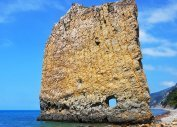 Скала Парус (Чёрное море, Краснодарский край)